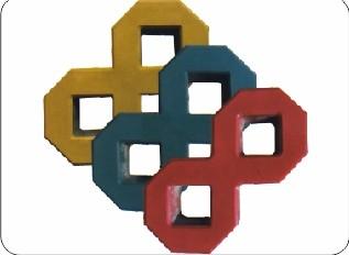 8字形植草砖
