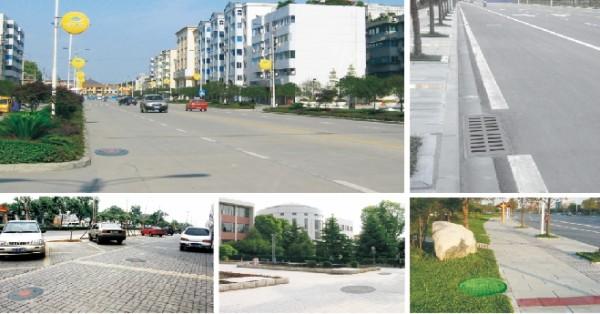 城市井盖安装案例